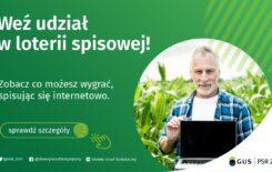 Więcej o: Weź udział w loterii spisowej!