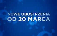 Więcej o: Rozszerzenie obostrzeń w całej Polsce od 20 marca do 9 kwietnia